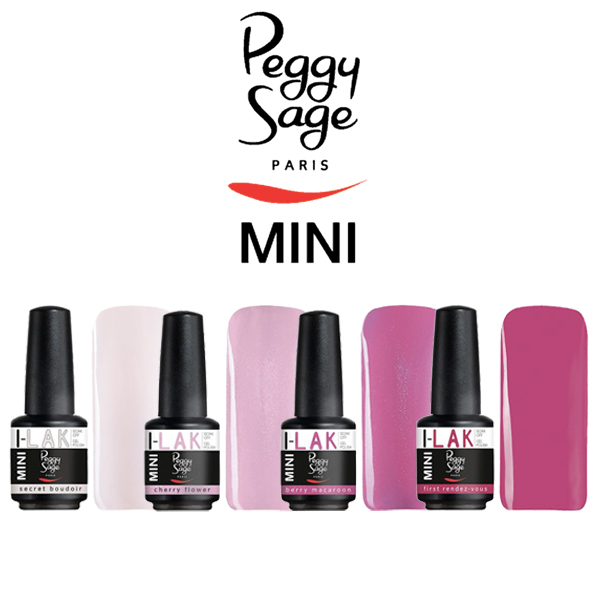 peggy sage semipermanente  SMALTI SEMIPERMANENTI PEGGY SAGE I-LAK MINI 9ML - COSMETICITY