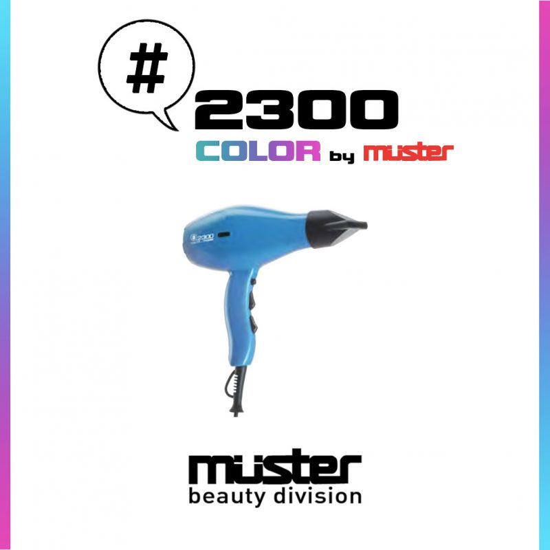 Asciugacapelli #2300 color by Muster COSMETICITY